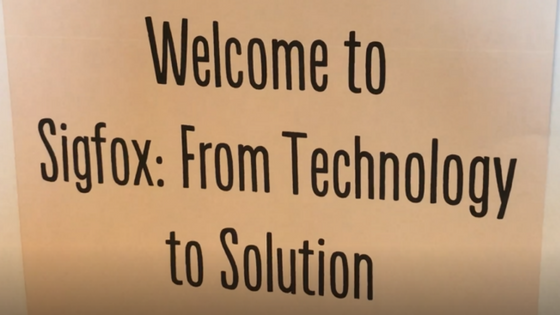 Sigfox Seminar – From Technology to Solution